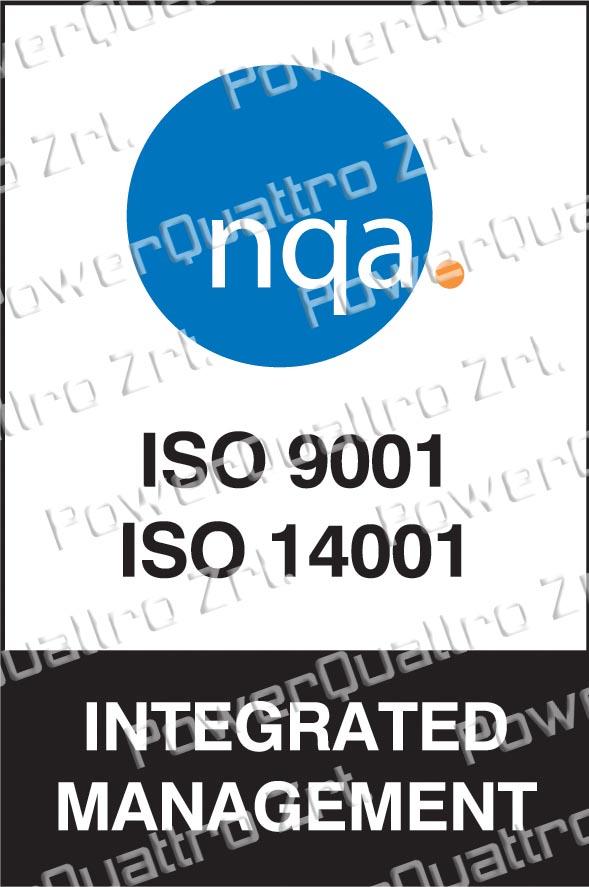 ISO9001, ISO14001 tanúsított társaság NQA